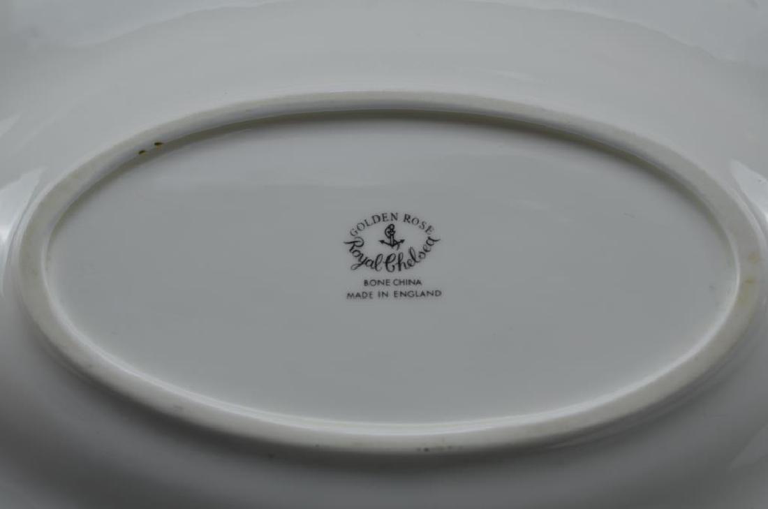 Royal Chelsea Golden Rose porcelain tea service 20 - 5