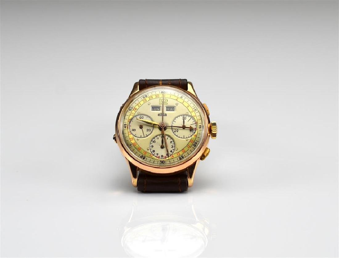 MEN'S GOLD ARSA CHRONOGRAPH WRISTWATCH