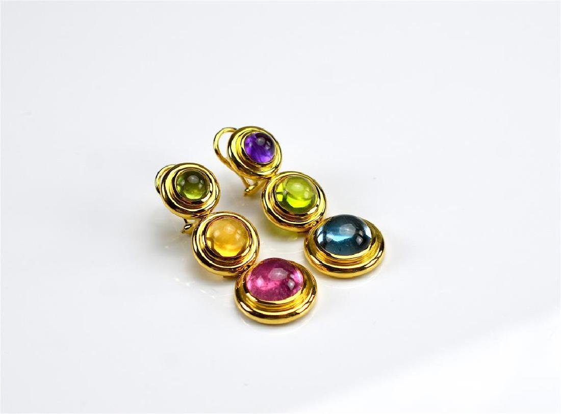PAIR OF PALOMA PICASSO GOLD EARRINGS