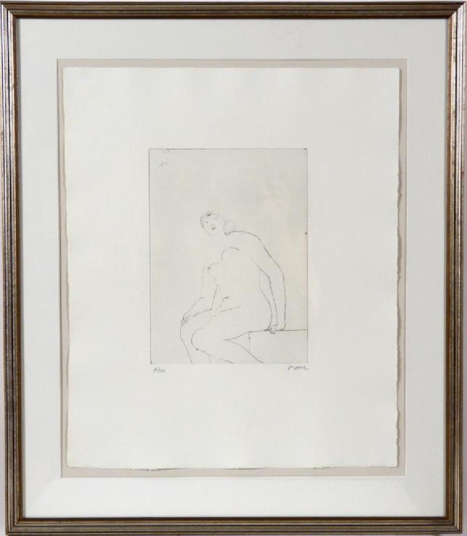 HENRY MOORE (BRITISH, 1898-1966) - 2