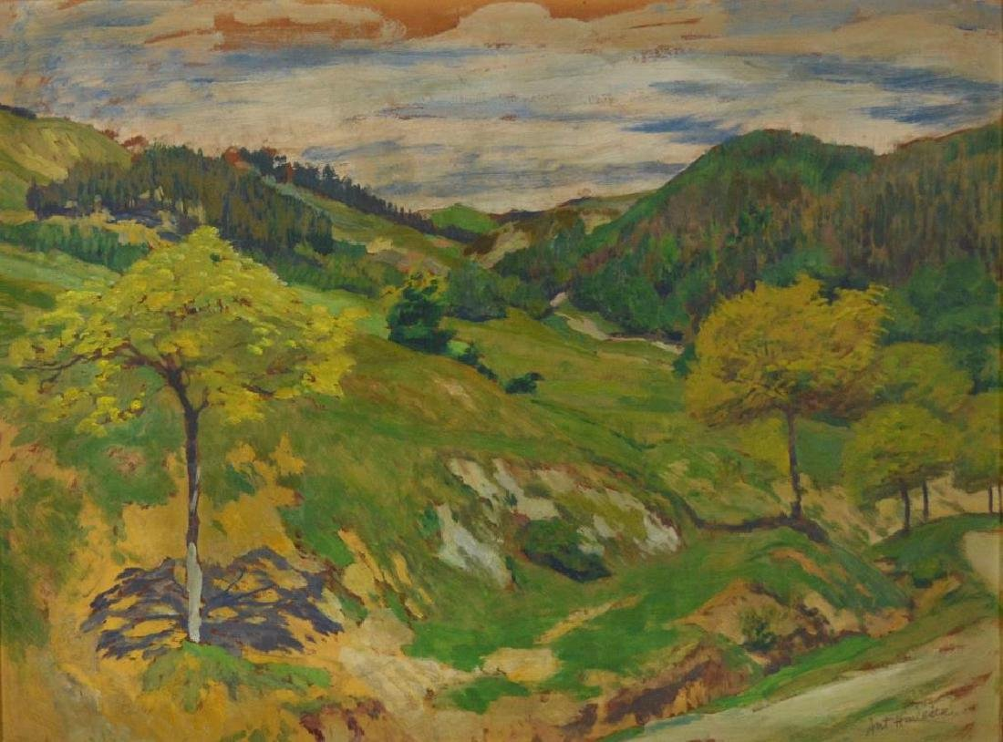 ANTONIN HUDECEK (Czech, 1872-1941)