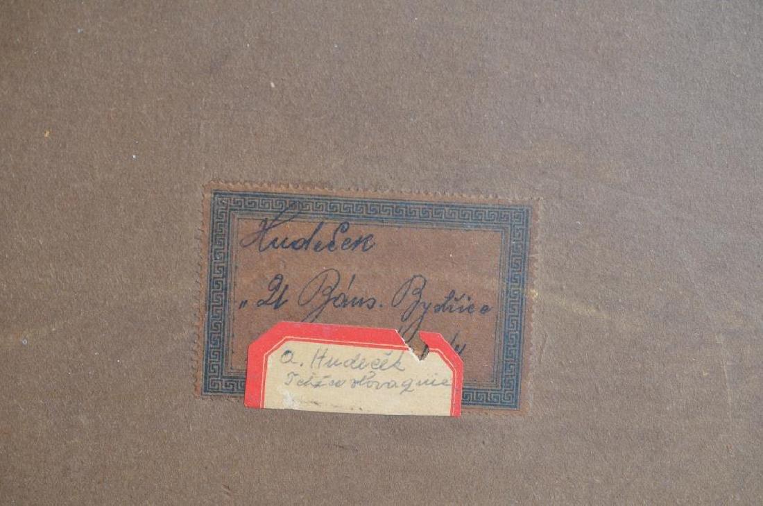 ANTONIN HUDECEK (Czech, 1872-1941) - 9
