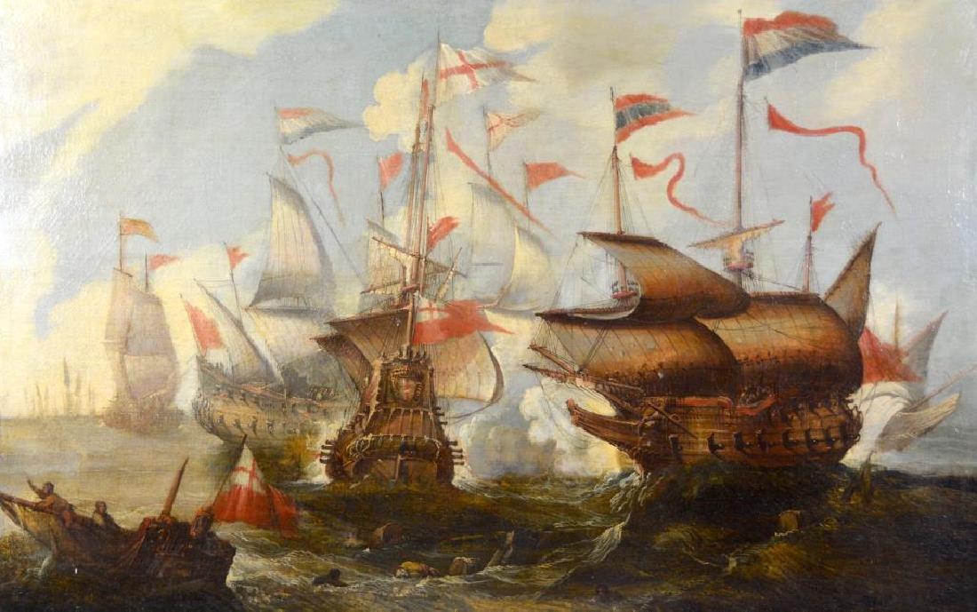 FOLLOWER OF WILLEM VAN DE VELDE THE YOUNGER