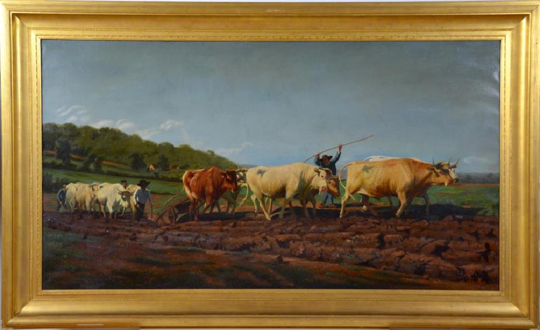 LOUIS THEODORE-DUBE (act. 1861-1925) - 2