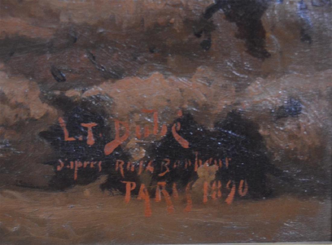 LOUIS THEODORE-DUBE (act. 1861-1925) - 3