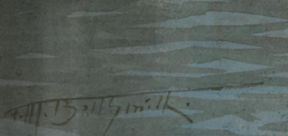 FREDERIC MARLETT BELL-SMITH OSA, RCA  (1846-1923) - 3