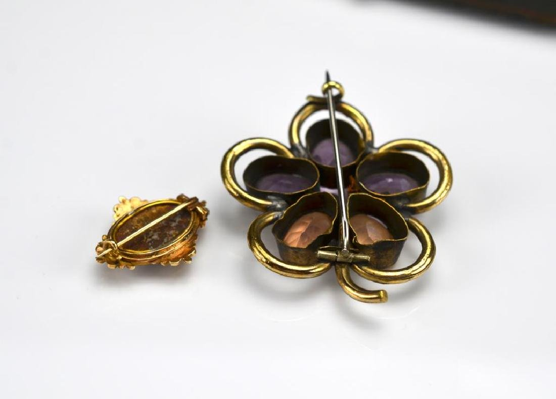 Two antique brooches - 2