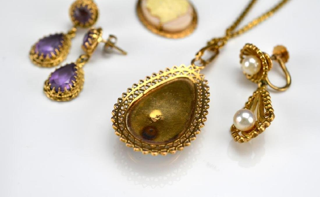 Lot of gold jewellery - 2