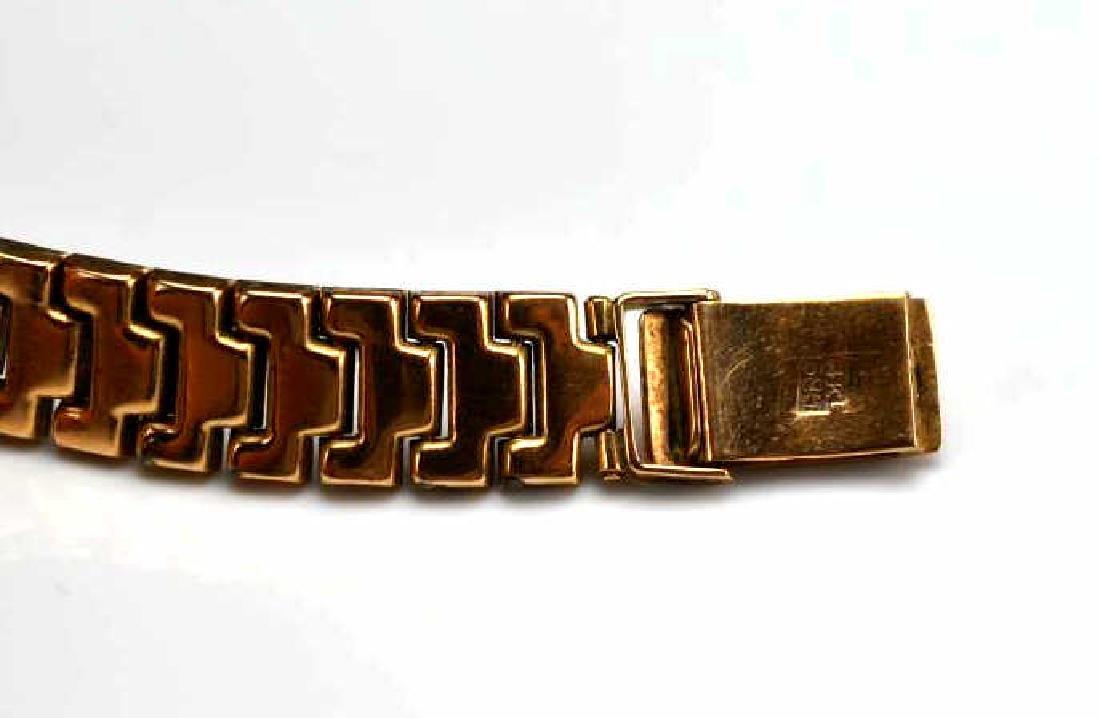 Lady's gold Doxa wristwatch - 3