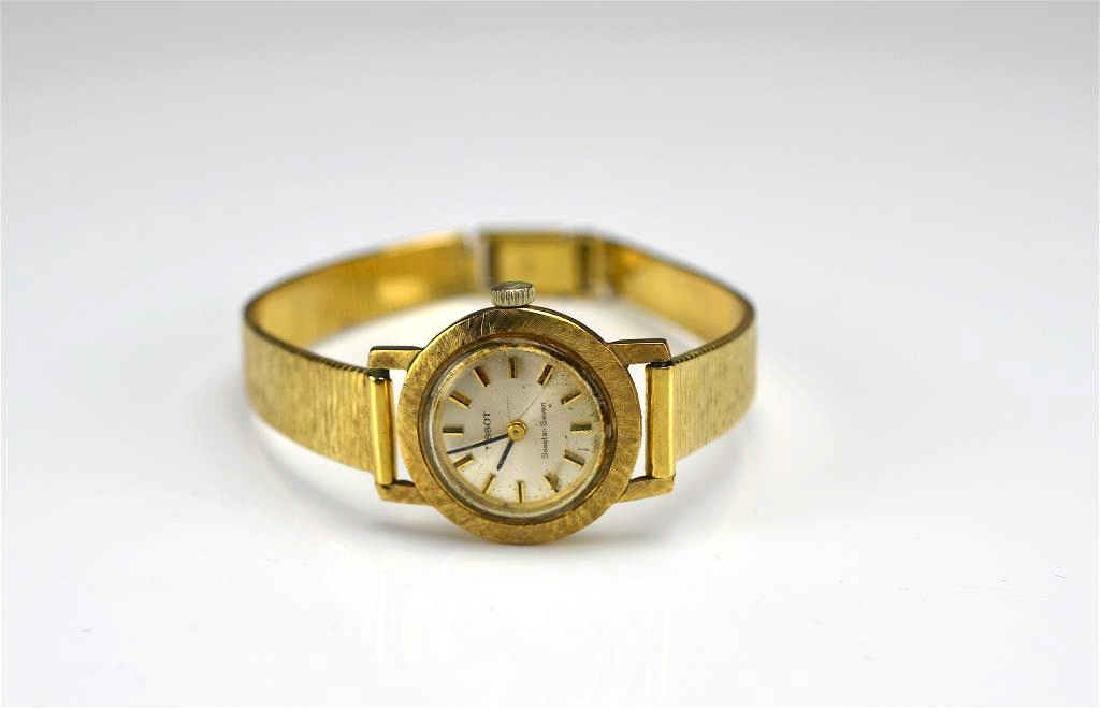 Lady's Tissot gold wristwatch