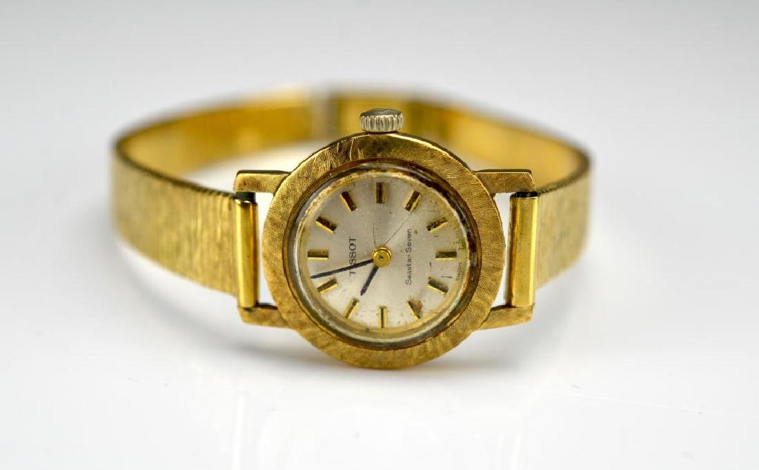 Lady's Tissot gold wristwatch - 2