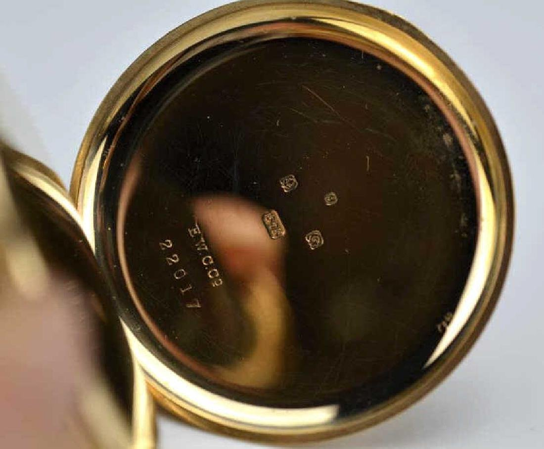 English yellow gold pocket watch - 2