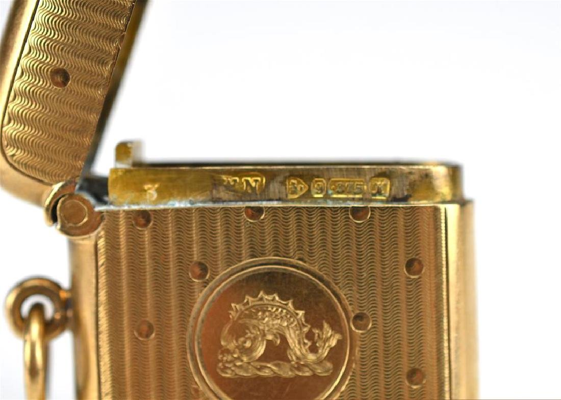 English gold vesta case - 2