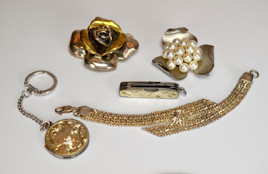 Lot of assorted silver jewellery and accessories - 2