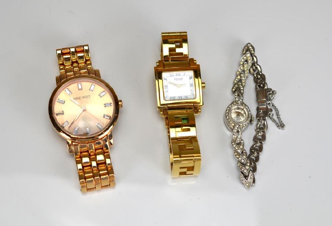 Three lady's wristwatches
