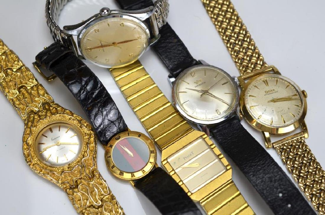 Lot of fashion wristwaches and watch parts - 2