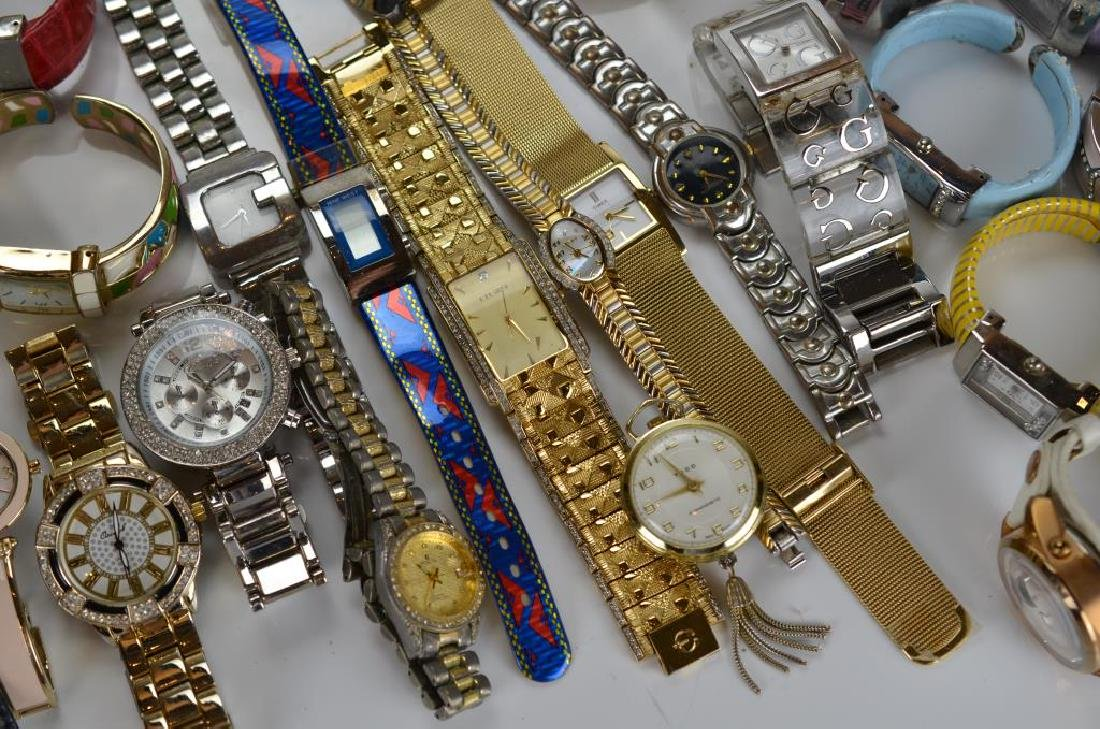 Large lot of lady's wristwatches - 2
