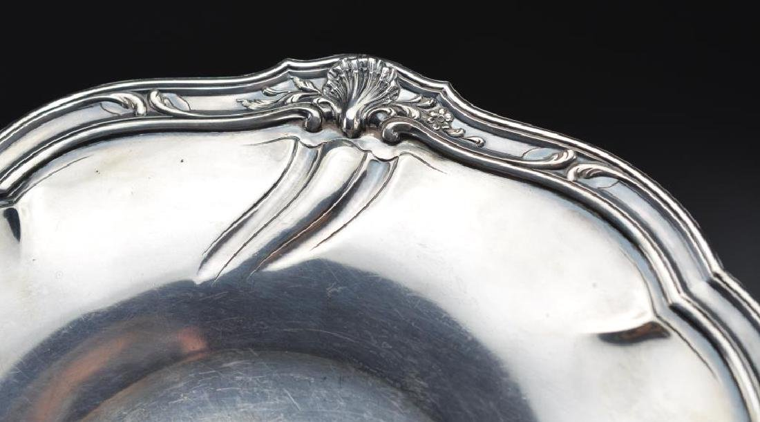 19th C French silver footed comport - 3