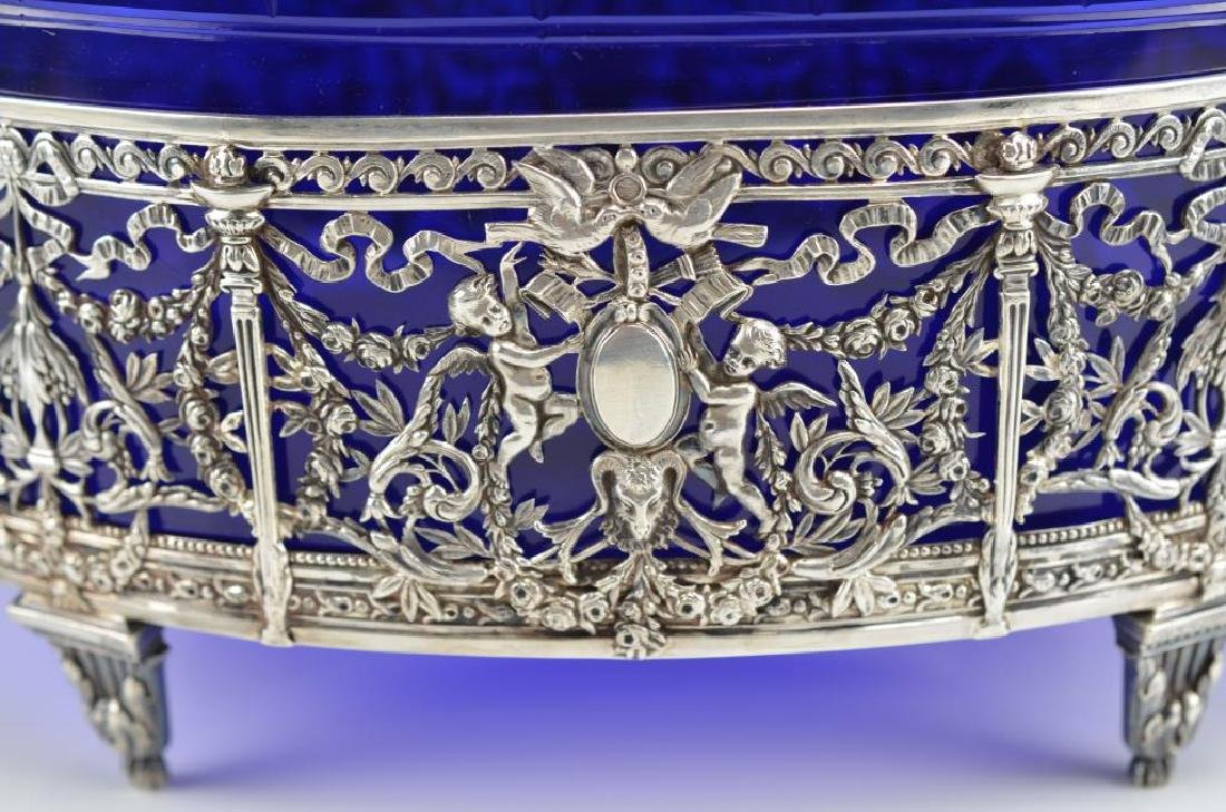 19th C. French silver centrepiece - 3