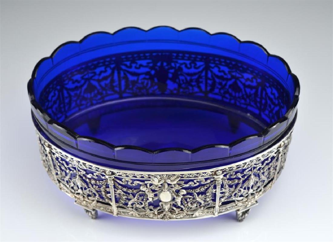 19th C. French silver centrepiece - 4