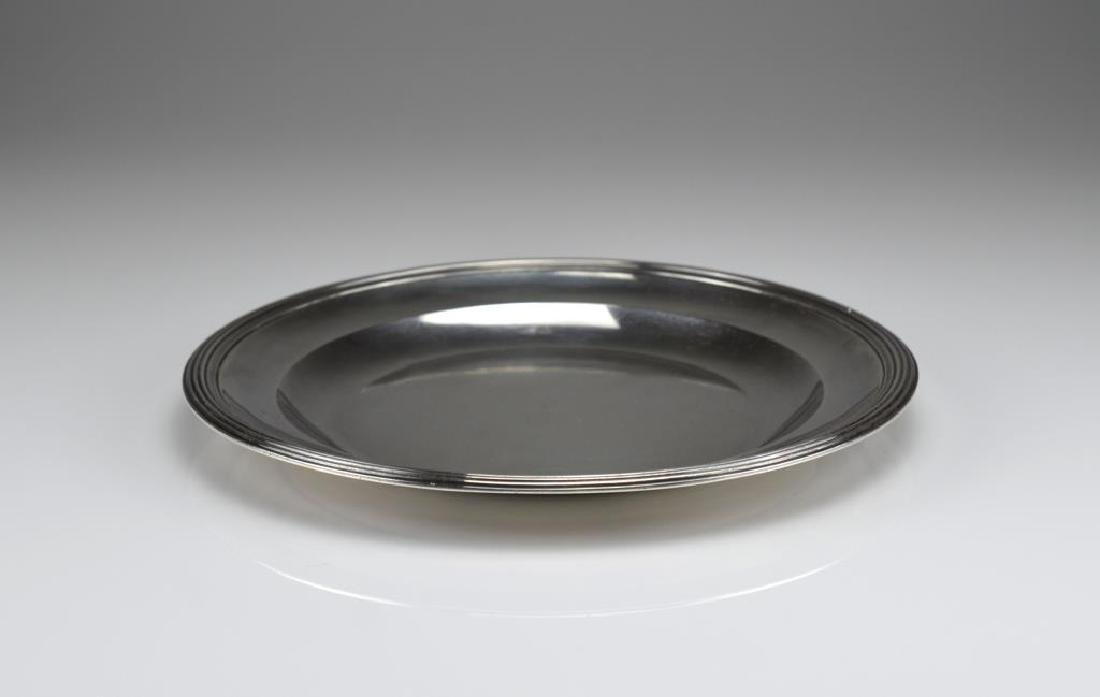 19th C French silver dish - 2