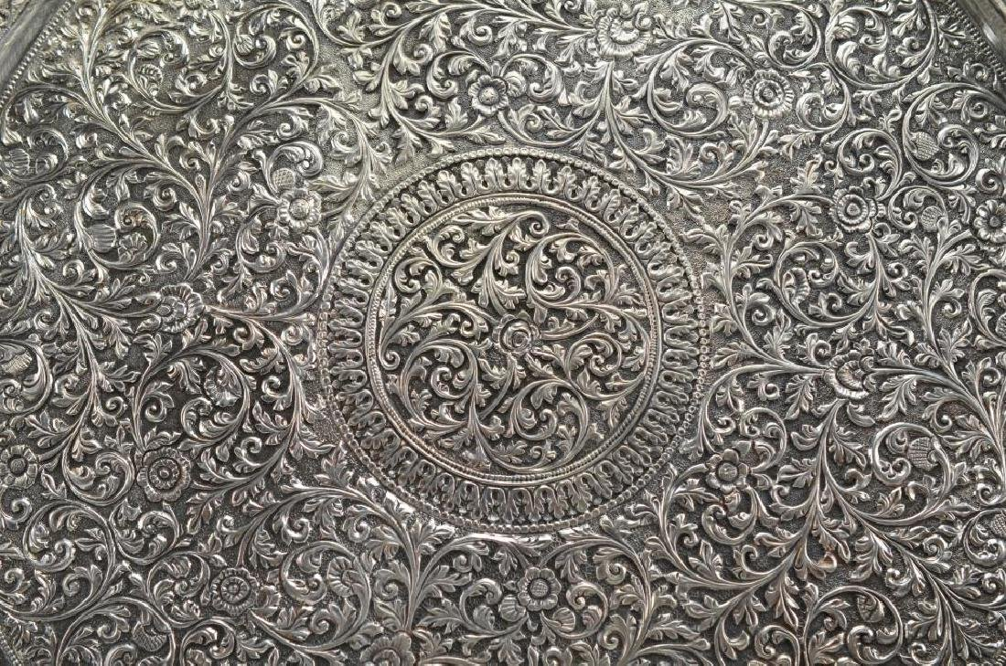 Indian Kutch silver tray - 3