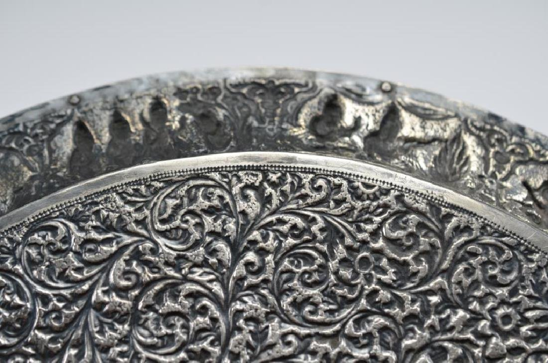 Indian Kutch silver tray - 4