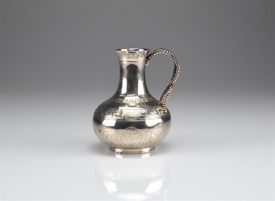 Victorian silver jug