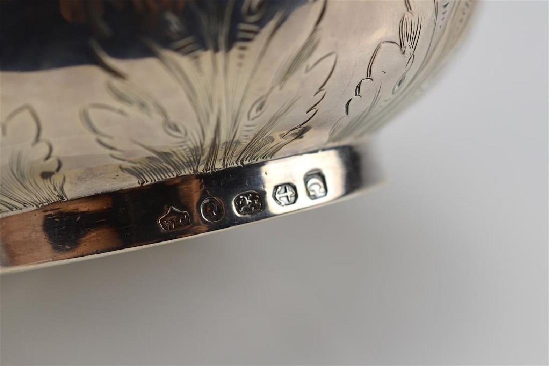 Victorian silver jug - 3