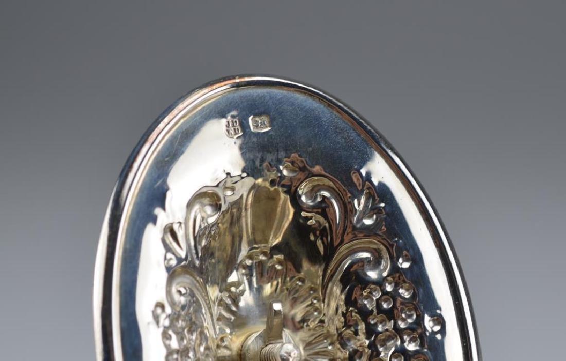 English silver teapot - 2