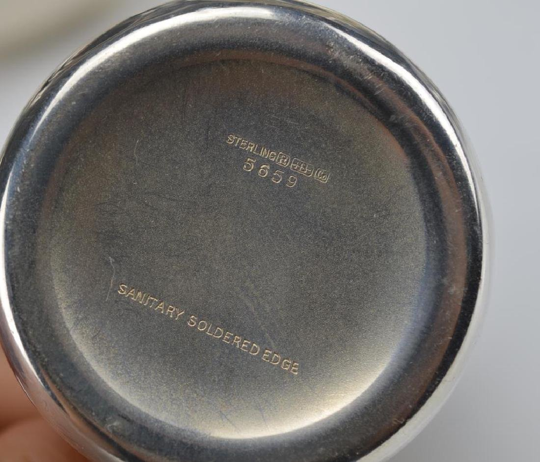 Lot of assorted silver holloware - 2