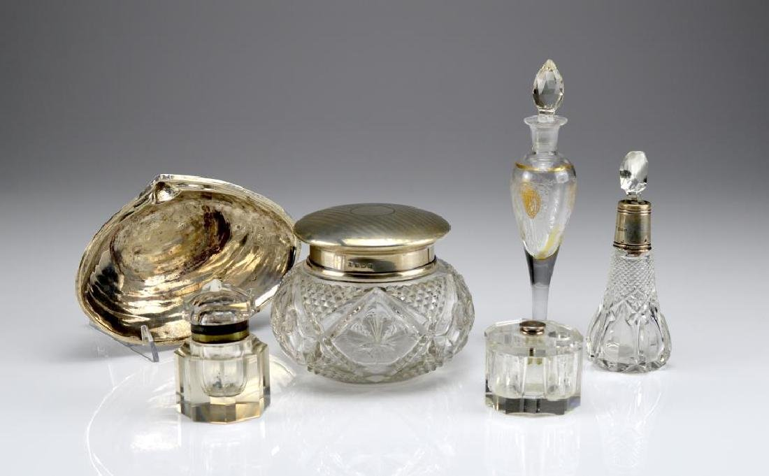 Lot of assorted glass and silver
