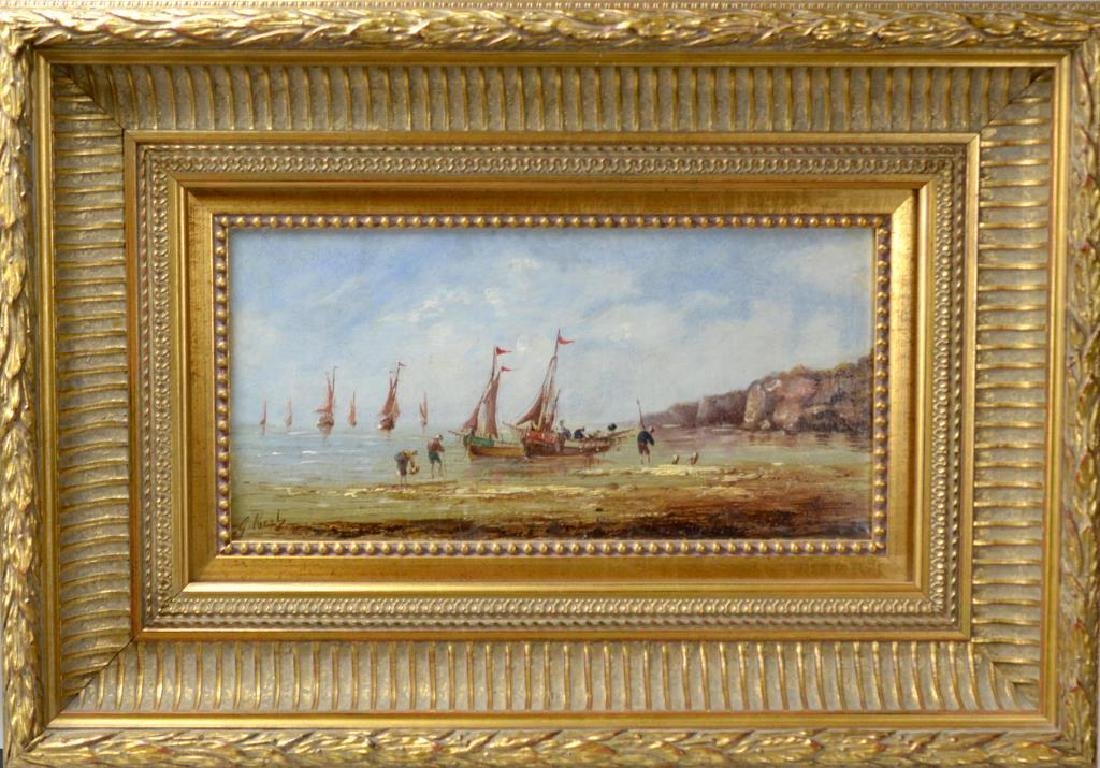 A PAIR OF DUTCH STYLE OIL PAINTINGS (20th C) - 5