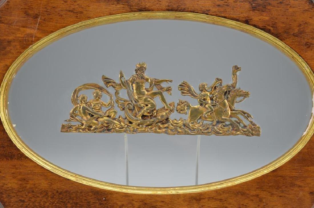Pair of French Empire bronze applique
