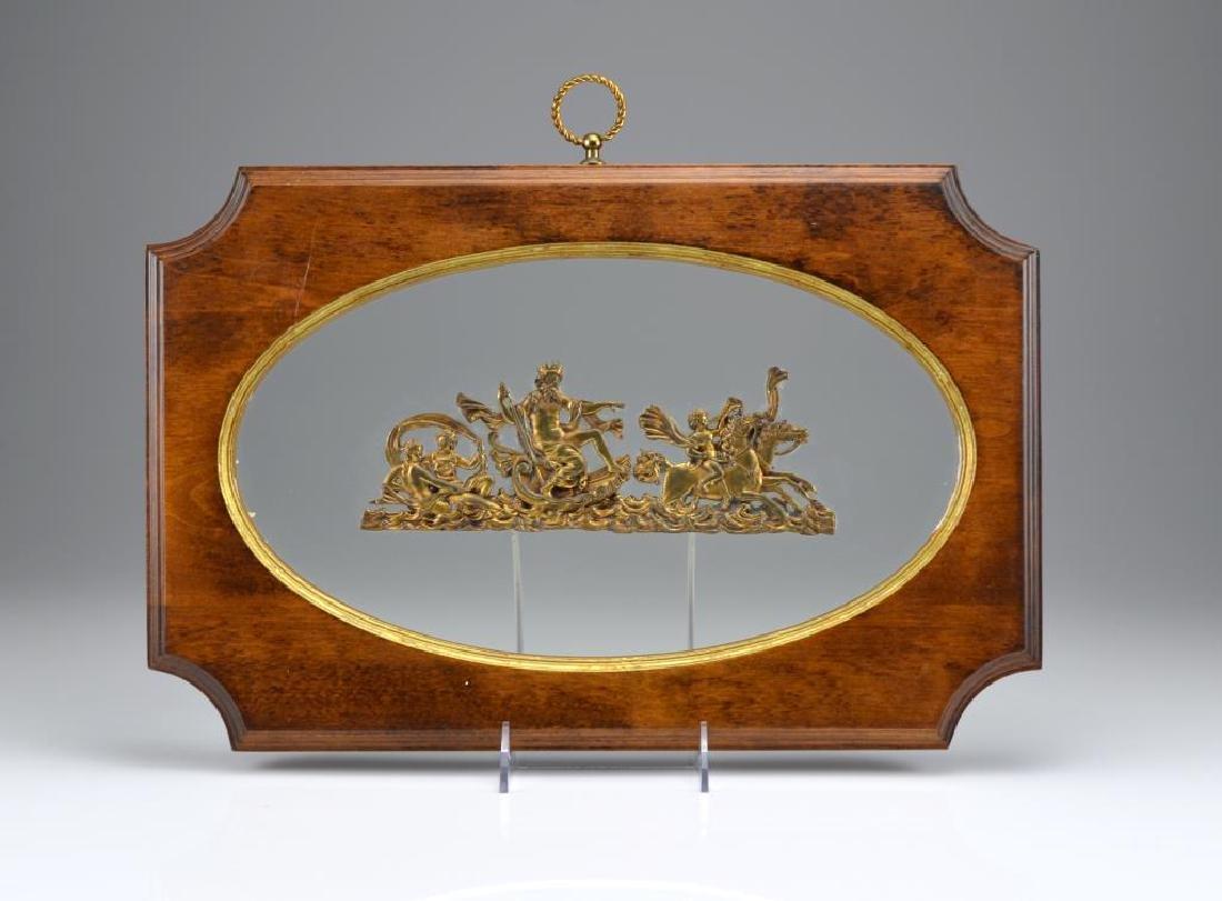 Pair of French Empire bronze applique - 2
