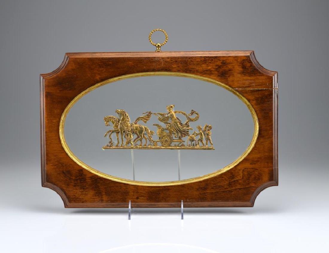 Pair of French Empire bronze applique - 3