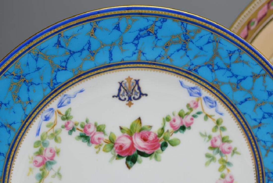 Lot of English porcelain plates - 3