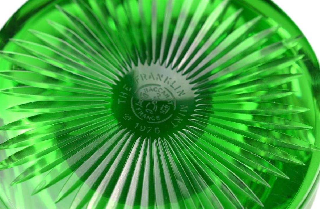 Five Baccarat Sulphide glass paperweights - 2