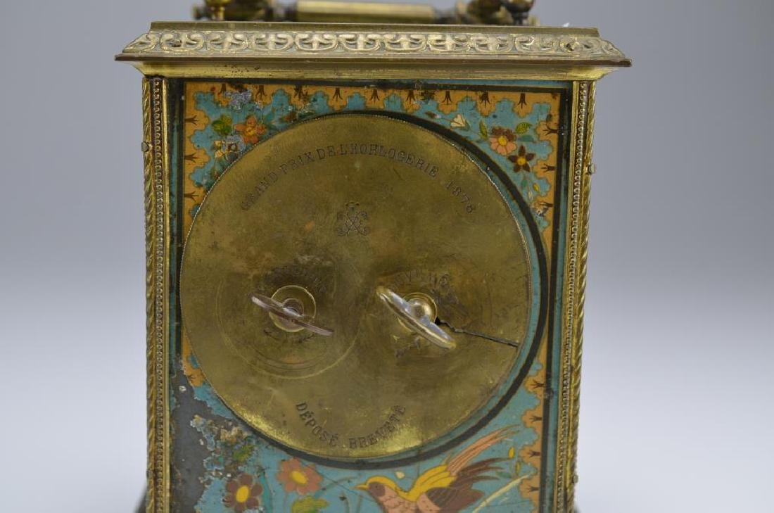 Two antique French mantel clocks - 3