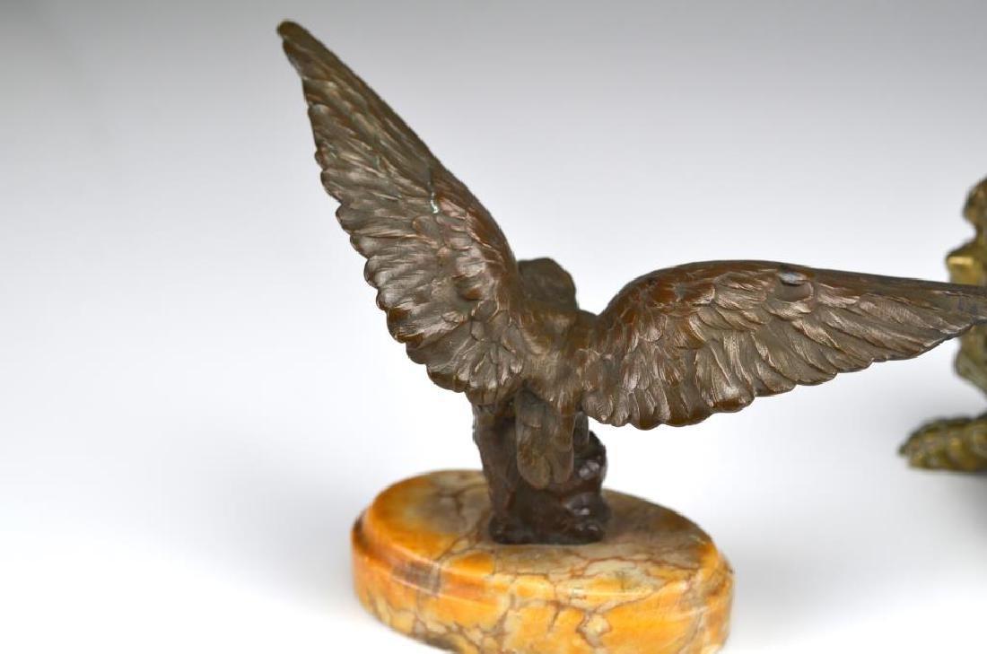 Two decorative bronze accessories - 2