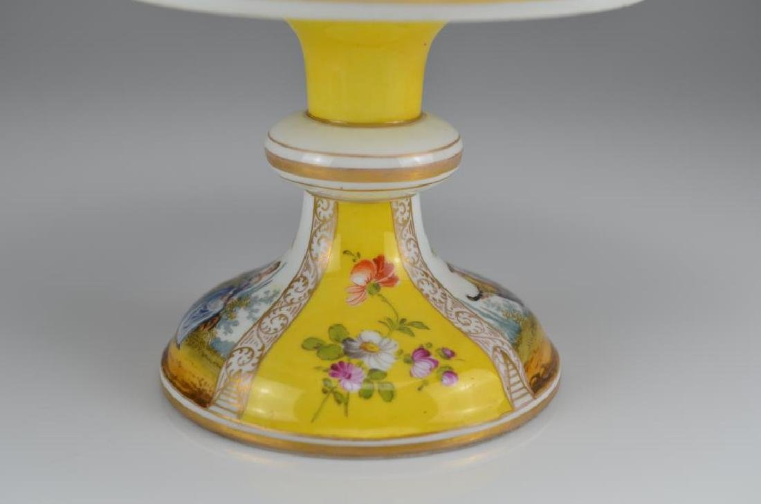 Three Dresden porcelain dishes - 7