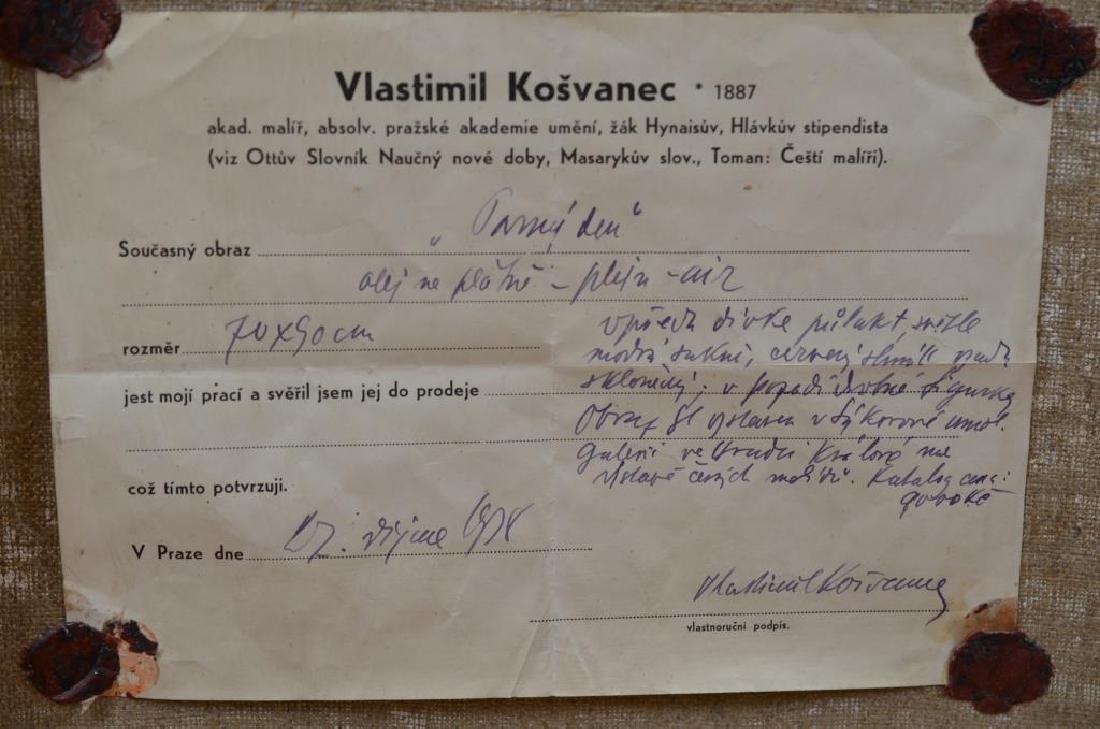 VLASTIMIL KOSVANEC (Czech, 1887–1961) - 5