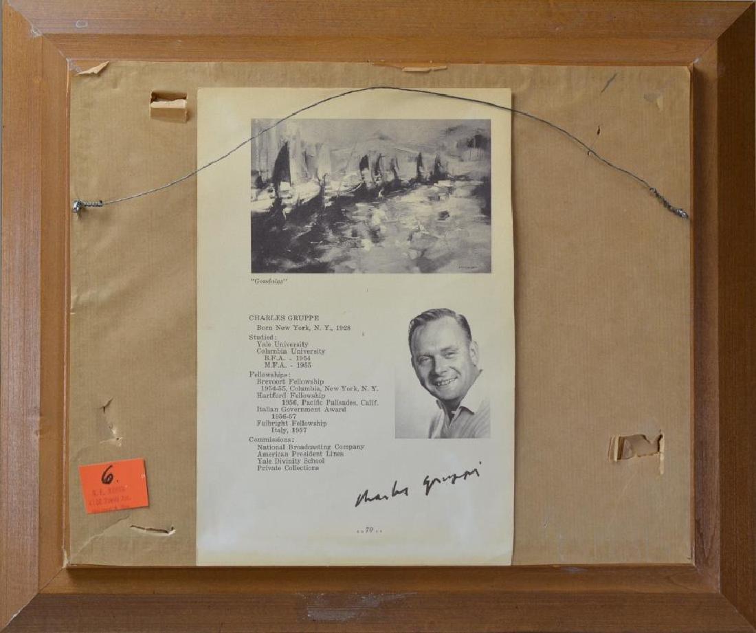 CHARLES GRUPPE (American, b. 1928) - 4