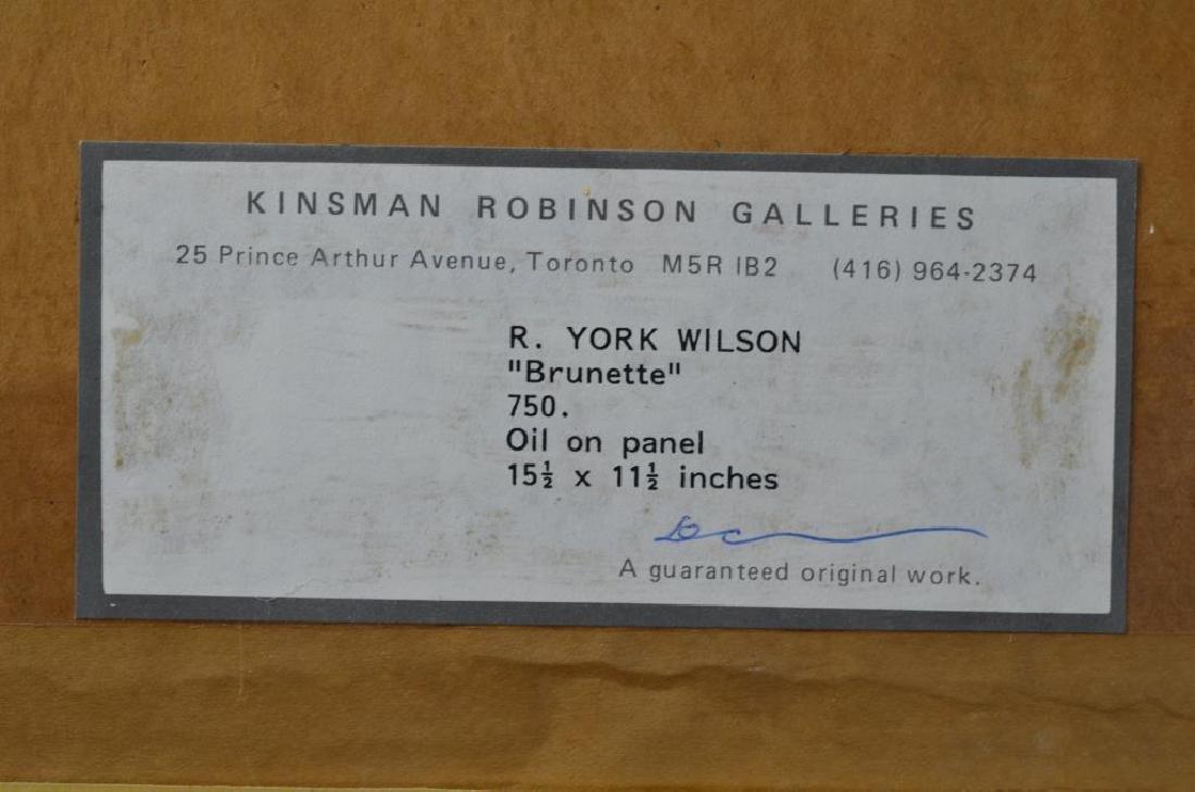 RONALD YORK WILSON (Canadian, 1907–1984) - 6