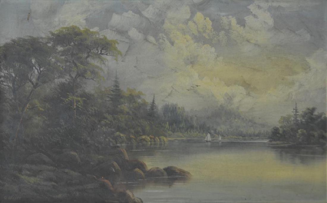 OCTAVIUS WHITE (Canadian, 1850-1931)