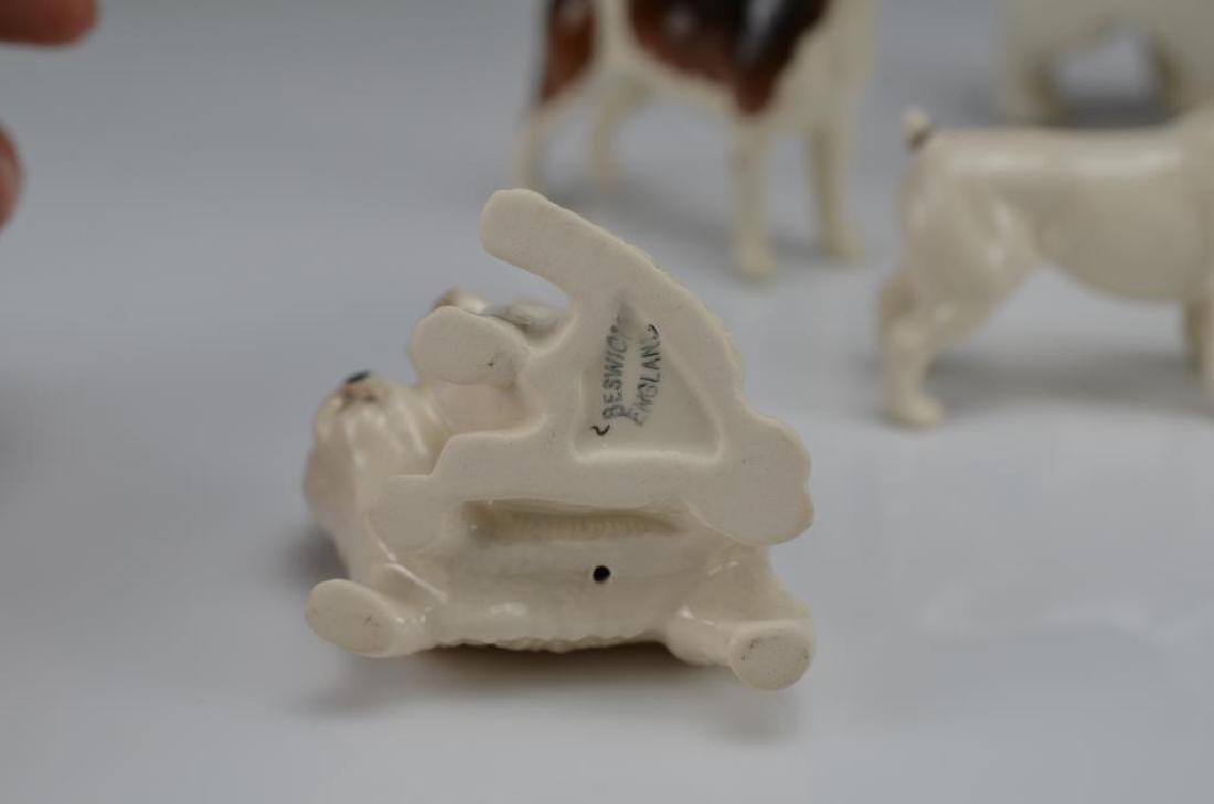 Five Beswick England dog figures - 3