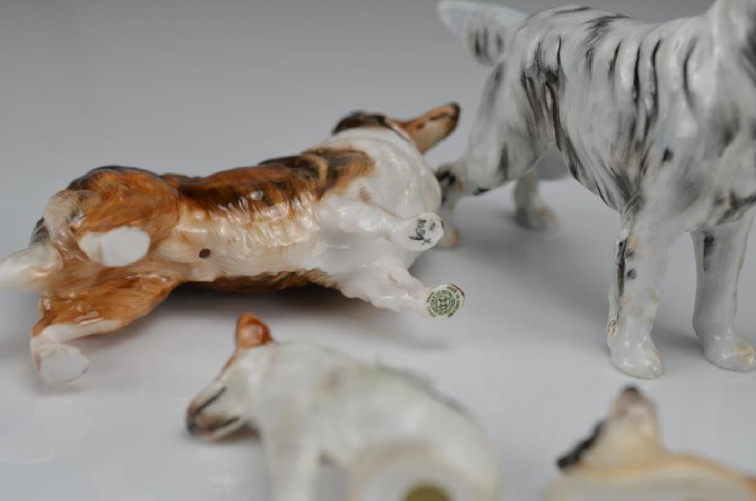 Six Royal Doulton dog figures - 3