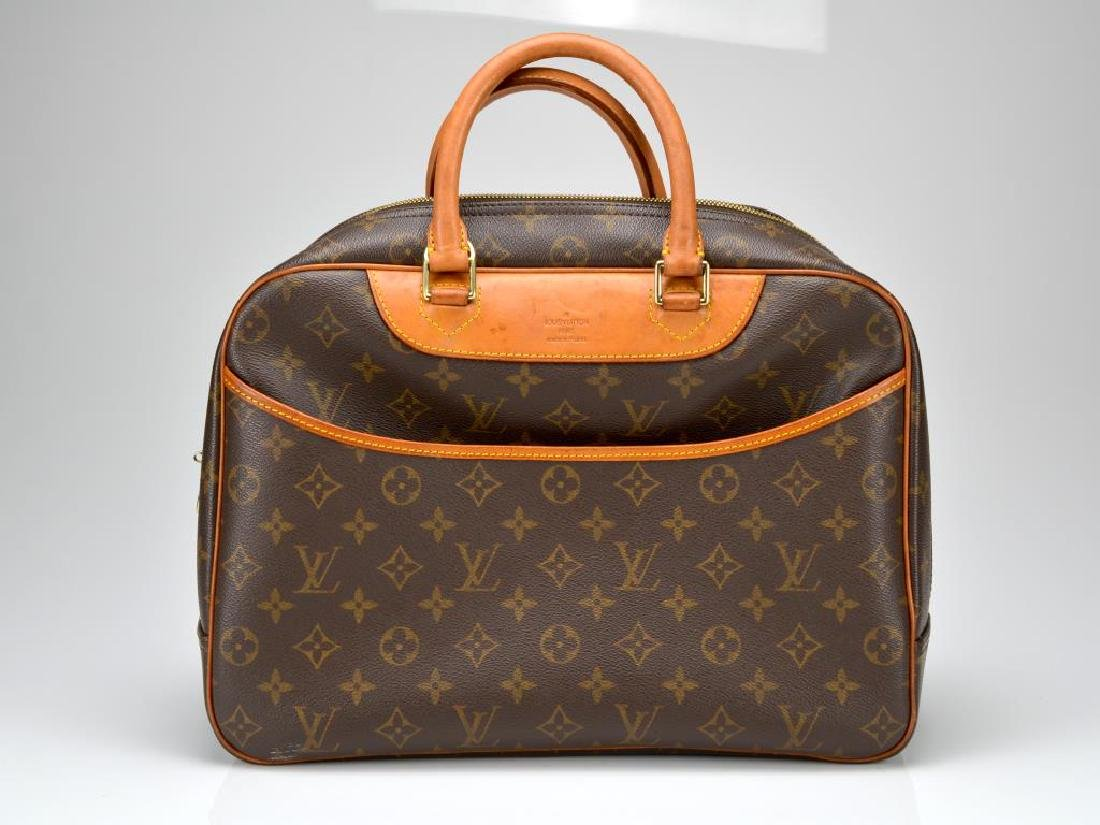 Monogrammed handbag marked for Louis Vuitton