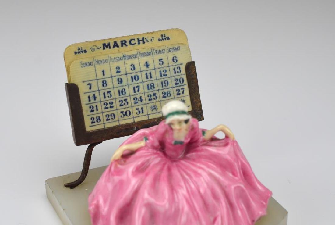 Art Deco desk calendar - 2