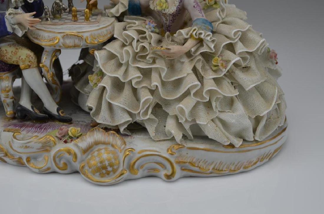 Continental porcelain figural group - 2